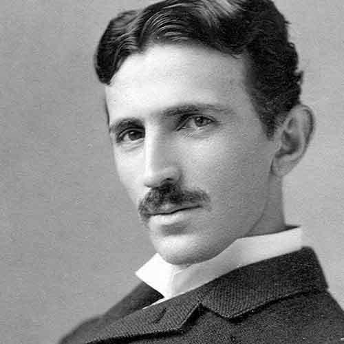 Nikola-Tesla-vegetariano